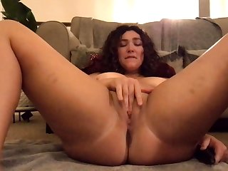 Chunky ass hole brunette acclimate to to huge tattoo has