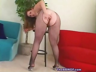 Chunky Chubby Bbw Ex Gf With Nice Ass Is Senseless For Black Cock-1