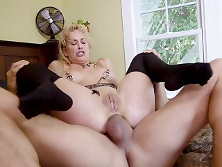 BDSM threesome with hotties Cherie DeVille with the addition of Gina Valentina